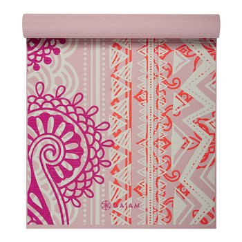 4MM YOGA MAT BOHEMIAN ROSE