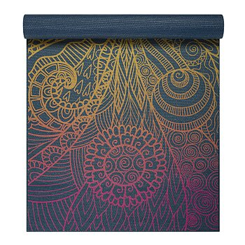4MM YOGA MAT VIVID ZEST