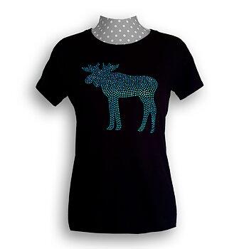 Älg Strass T-Shirt