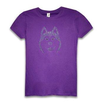 Husky Strass T-Shirt