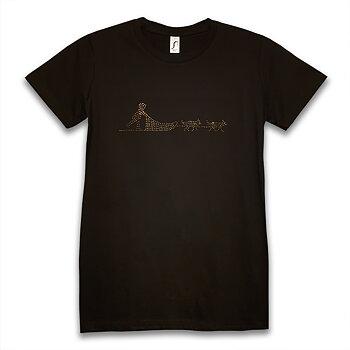 Hundsläde Strass T-Shirt