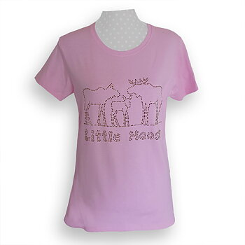 The Moose Family Strass T-Shirt