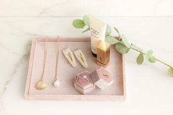 Smyckesbricka pink, liten