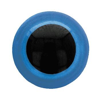 Ögon 10mm Blå