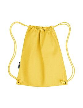Twill Gym Bag, Yellow, Neutral, Fairtrade & EKO (Ny färg 2020)
