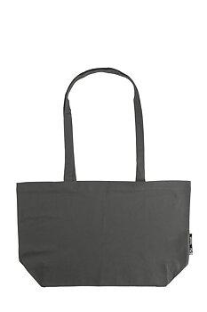 Shopping Bag with Gusset, Charcoal, Neutral, Fairtrade & EKO (Ny färg 2020)