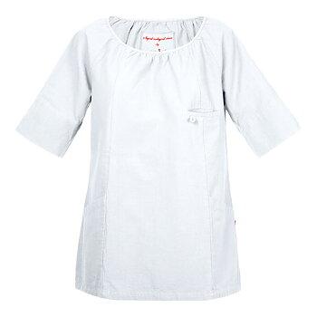 Tunika Elin, Dam, White, Smila Workwear, EKO & GOTS