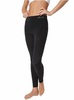 Full Length Leggings Basic, Black, Boody Bamboo Eco Wear, Ekologisk