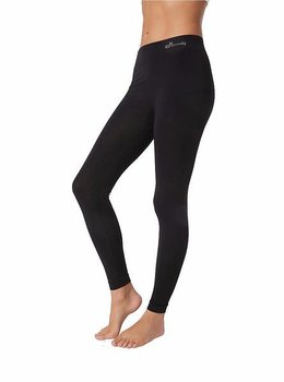 Full Length Leggings Basic, Svart, Boody Bamboo Eco Wear, Ekologisk