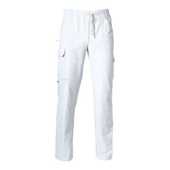 Byxa Elis, Unisex, White, Smila Workwear, EKO & GOTS