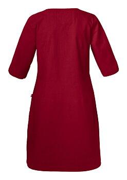 Klänning Emma, Dam, Dark Red, Smila Workwear, EKO & GOTS