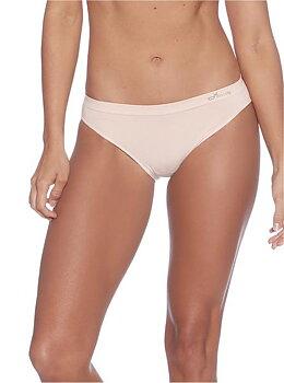 3-pack Women's Classic Bikini Underwear, Hudfärgade, Boody Bamboo Eco Wear, Ekologisk
