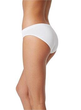 3-pack Women's Classic Bikini Underwear, Vita, Boody Bamboo Eco Wear, Ekologisk