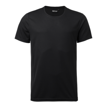 Kids Functional t-shirt Ray, Black, South West Everywear, 100% Recycled