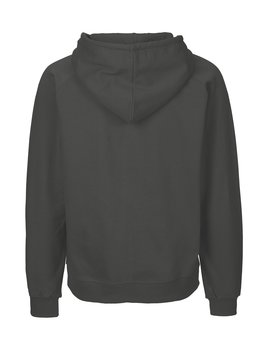 Mens zip Hoodie, Charcoal, Neutral, Fairtrade & EKO (Ny färg 2020)