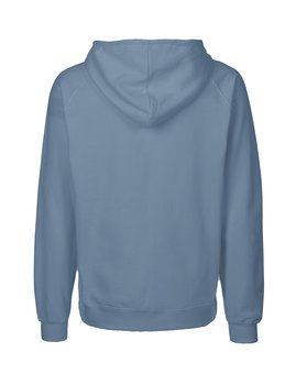 Mens zip Hoodie, Dusty Indigo, Neutral, Fairtrade & EKO (Ny färg 2020)