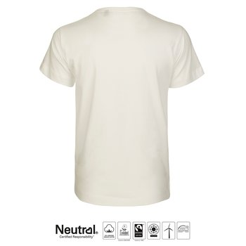 T-shirt Klassisk, Barn, Natur, Neutral, Fairtrade & EKO