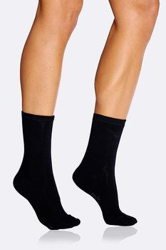 Vardagsstrumpor/Women's Everyday Socks, Svart, Boody Bamboo Eco Wear, Ekologisk - One Size