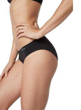 Women's Classic Bikini Underwear, Black, Boody Bamboo Eco Wear, Ekologisk