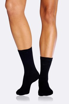 5-Pack Women's Everyday Socks, Black, Boody Bamboo Eco Wear, Ekologisk - One Size