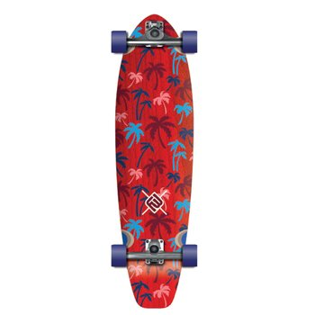 FLYING WHEELS Surf Skateboard 35 Palm STR Surfin Series