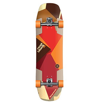 FLYING WHEELS Surf Skateboard 36 Nestblock STR