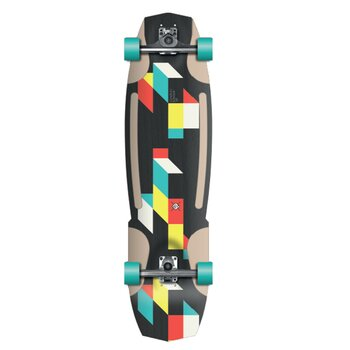 FLYING WHEELS Surf Skateboard 38 Construct STR