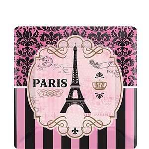 A Day in Paris - Paper Plates