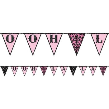 A Day in Paris - Fabric  Bunting