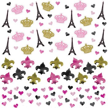 A day in Paris - Table Confetti