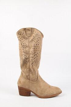 Ethnic Boots Kaki