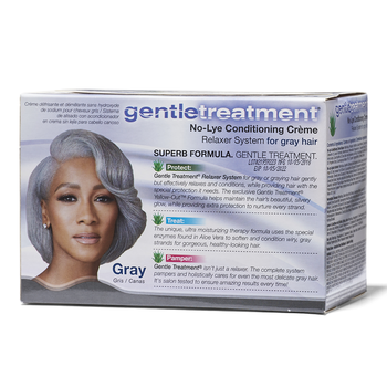Gentle treatment No-lye Conditioning Creme ( Gray )