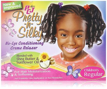 PCJ Pretty-n-Silky No Lye Conditioning Creme Relaxer ( Children's Regular)
