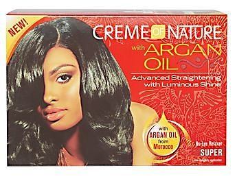 Creme Of Nature Advanced Straightening With Luminous Shine  (SUPER)
