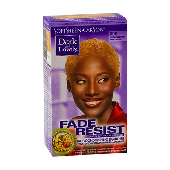 Dark & Lovely Hair Color #396 Luminous Blonde