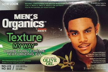 MEN'S Texture My Way Comb-Thru Creme  ( texturizing kit )