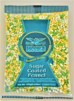 HEERA Sugar Coated Fennel 100g