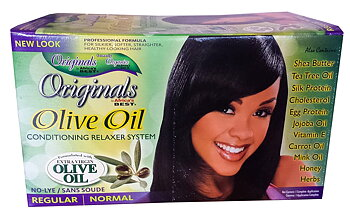 Africa's Best Organics Olive Oil Conditioning Relaxer Syestem (Regular/Normal)