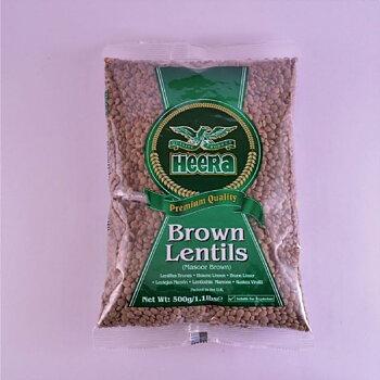 HEERA Brown Lentils 500g