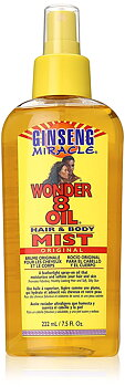 Ginseng Miracle Wonder 8 Oil Hair & body Mist original 222ml
