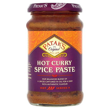 Pataks Curry Paste Hot 283g