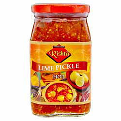 Rishta Lime Pickle Hot 400g