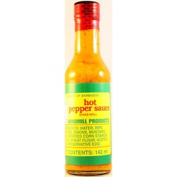 Windmill Hot Pepper Sauce 142ml