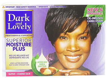 Dark And Lovely Superior Moisture Plus ( super *coarse Hair)