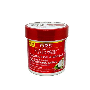 ORS Hairrepair Coconut & Baobab Anti Breakage Conditioning Creme 142g