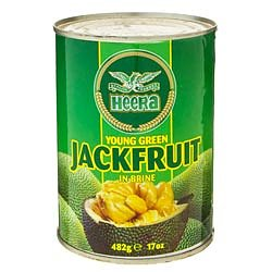 HEERA Young Green Jackfruit In Brine 482g