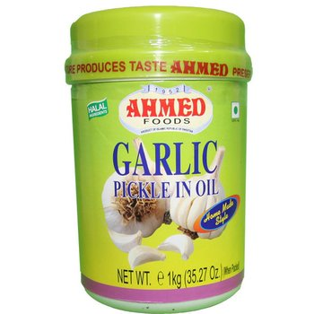AHMED Garlic Pickle In Oil 1kg