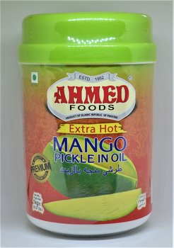 AHMED Extra Hot Mango Pickle In Oil 1kg