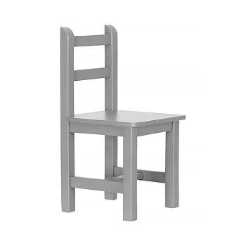 Barnkammarstol mörkgrå