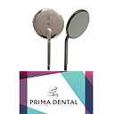 PRIMA  FS-Rhodium Mouth Mirrors #4, 50st.